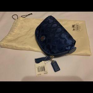 Coach - Navy Blue MakeUp Bag